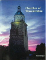 Cover of Churches of Worcestershire by Tim Bridges